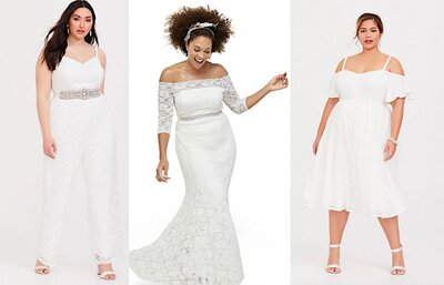 c01dc566fd27 Torrid Launches Affordable Plus Size Wedding Dress Line - HelloGiggles