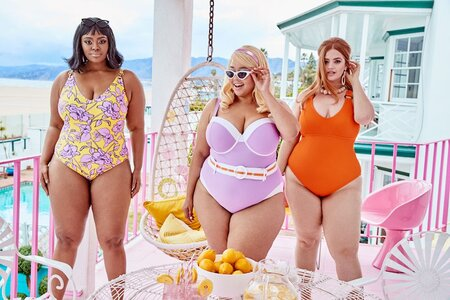 9c1c5f6d8f71d GabiFresh and Swimsuits For All s summer collection is giving us retro  Barbie vibes
