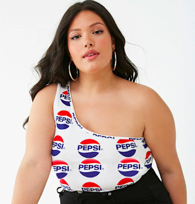 cb1a5d09818 Forever 21 And Pepsi Launches Clothing Line Collaboration - HelloGiggles