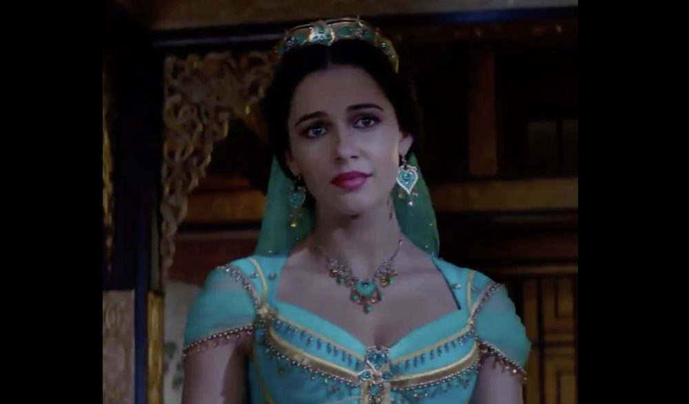 All Of Jasmine S Looks In The New Aladdin Trailer See Here Hellogiggles