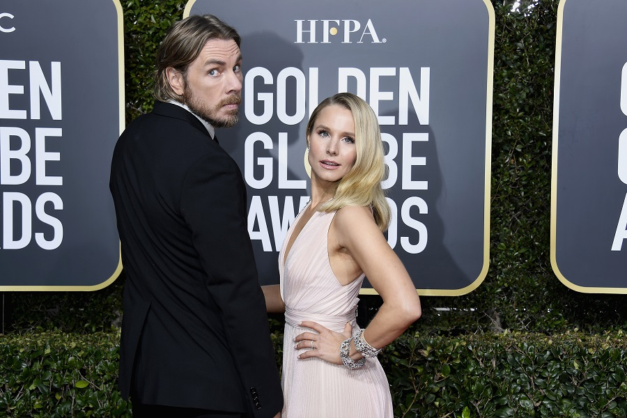 """Kristen Bell says she and Dax Shepard had a """"pretty incredible fight recently,"""" and it started over towels"""