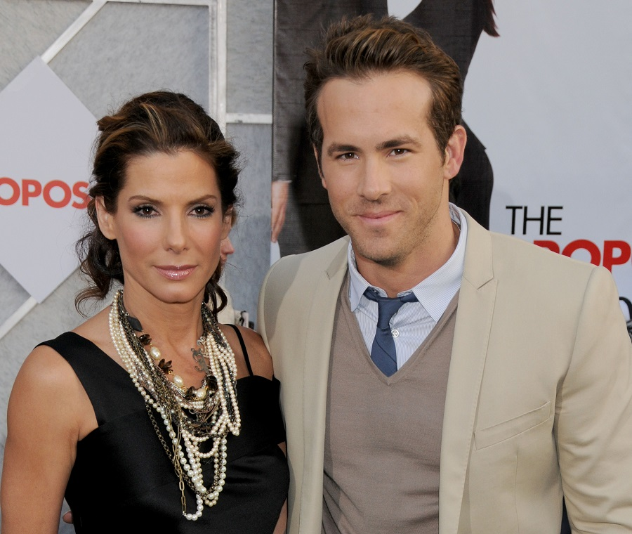 Sandra Bullock and Ryan Reynolds singing happy birthday to Betty White is a joy trifecta