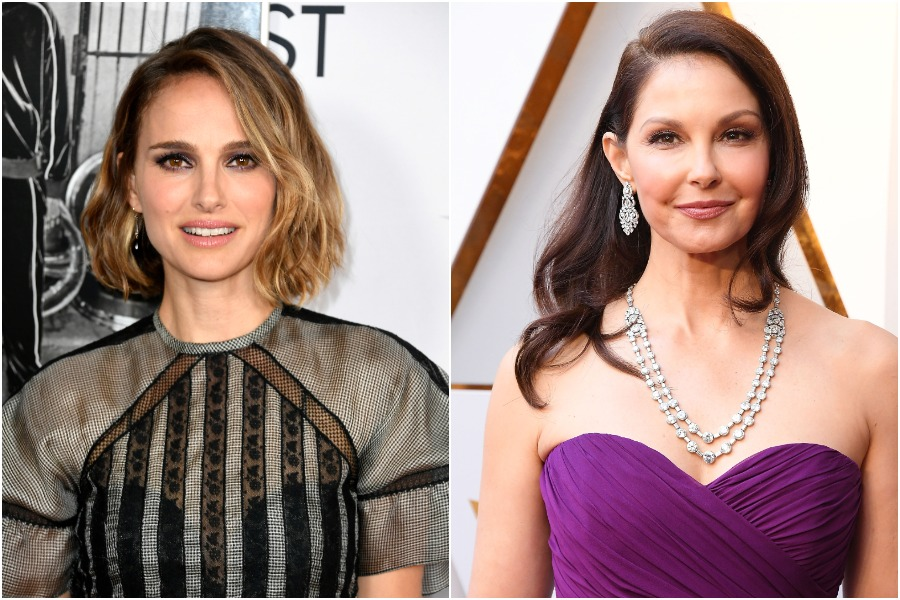 Natalie Portman gave a sweet show of support to her '90s co-star Ashley Judd for taking a stand against Harvey Weinstein