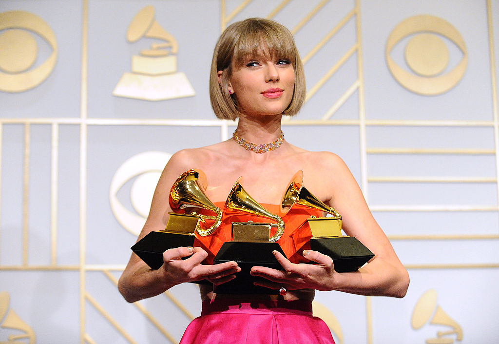 Why is Taylor Swift not at the Grammys?