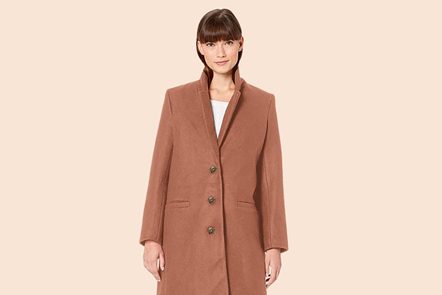 "Amazon shoppers call this ""the most perfect coat"""