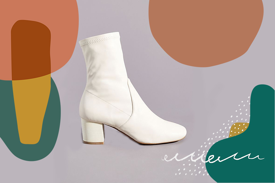 11 white booties perfect for stepping from winter into spring