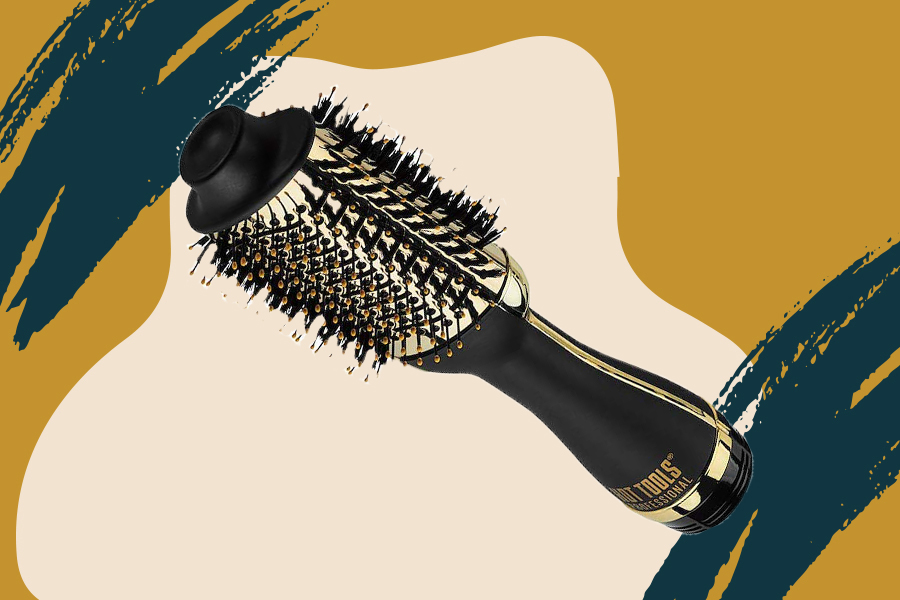 It's official: This charcoal-infused hair styler just dethroned the Revlon hot air brush on Amazon