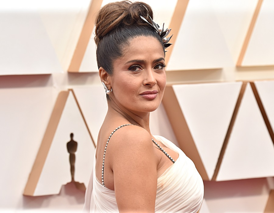 Salma Hayek clapped back at a troll who told her she had too much Botox