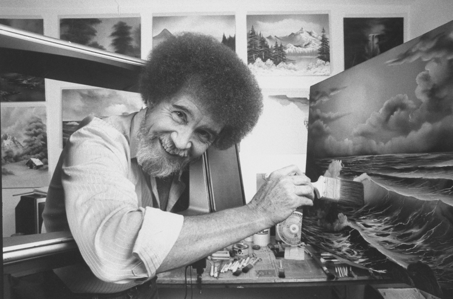 """You can now watch every episode of Bob Ross's """"The Joy of Painting"""" for free"""