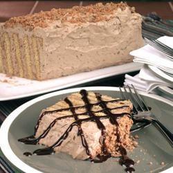 Easy Nesquik Butterfinger Dessert