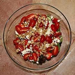 tomato and strawberry salad recipe