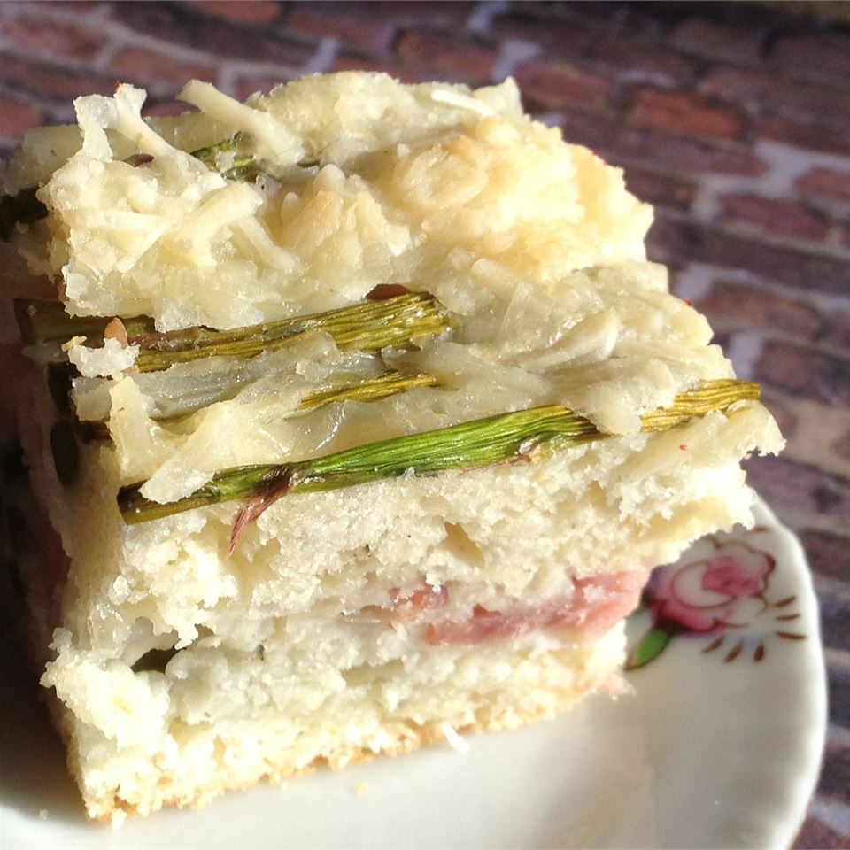 Ham and Asparagus Brunch Bake It's A New Day