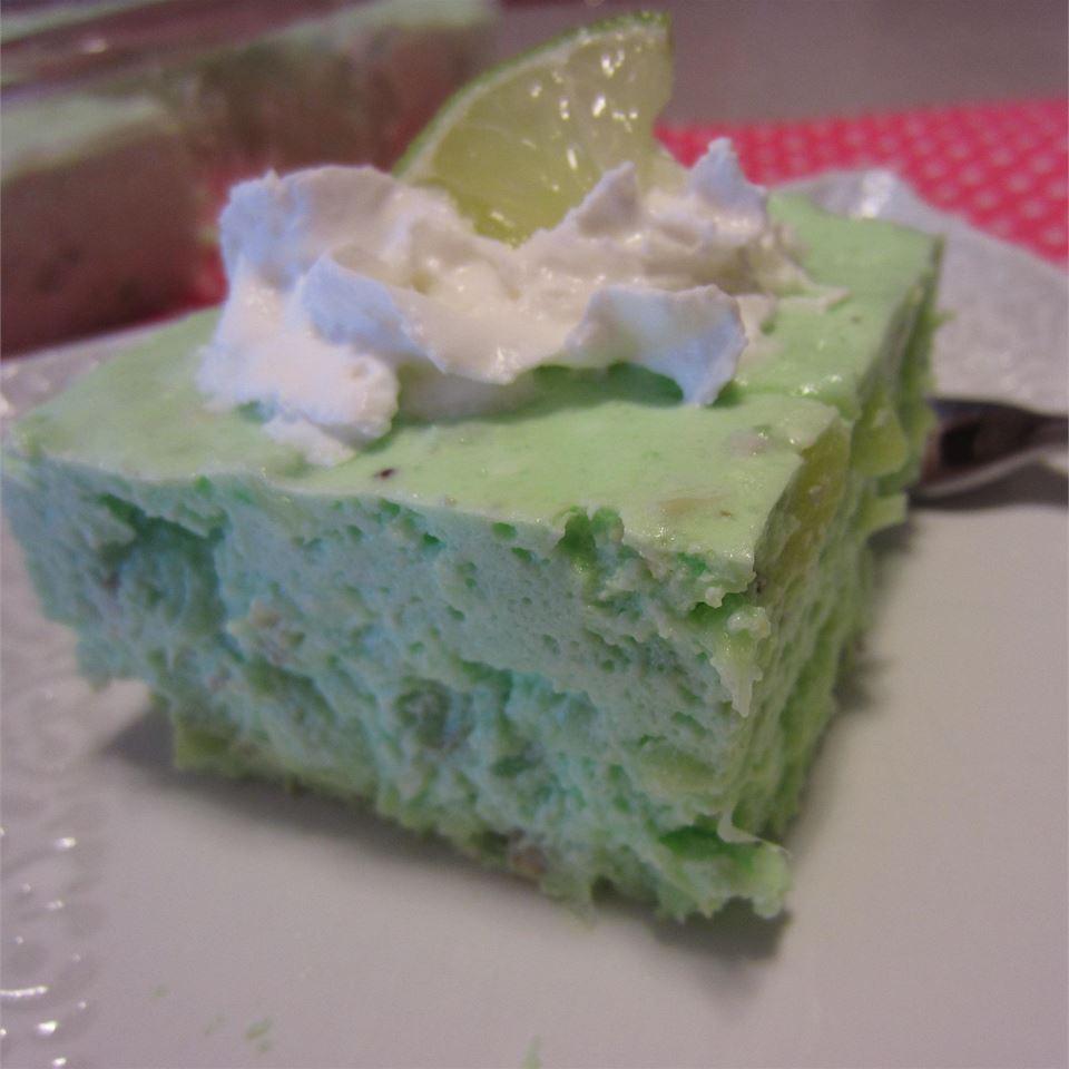 Lime Gelatin Salad I ReneePaj
