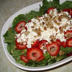 Strawberry and Feta Salad mylocalfood