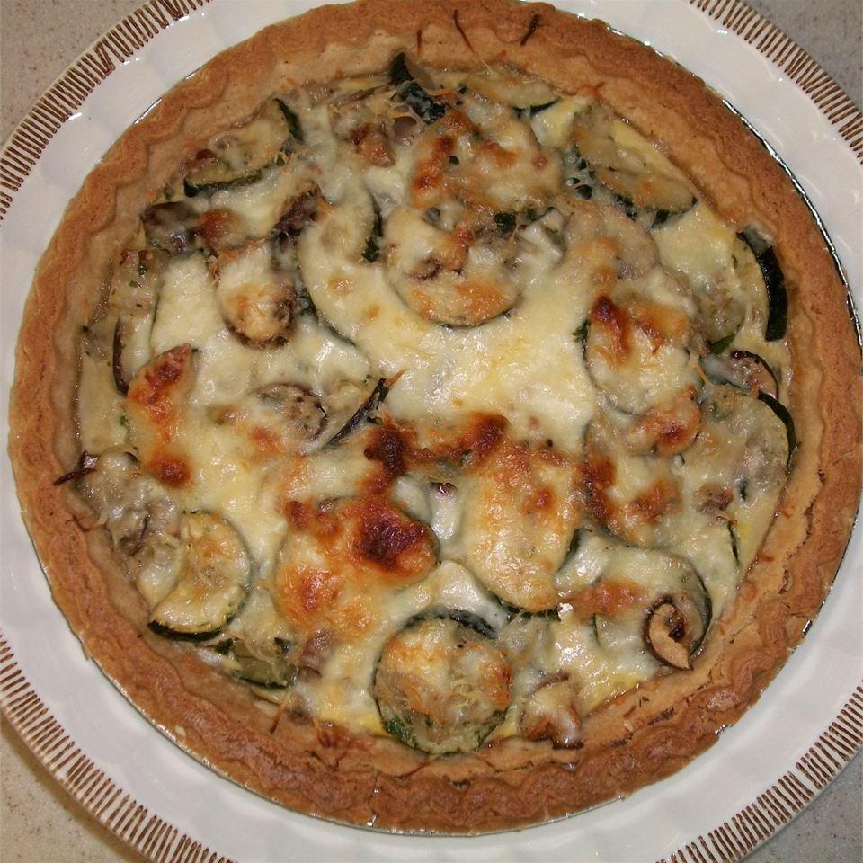 Summertime Zucchini Pie