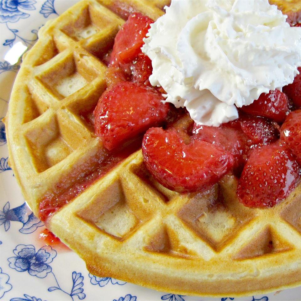 Buttermilk Oatmeal Waffles Deb C