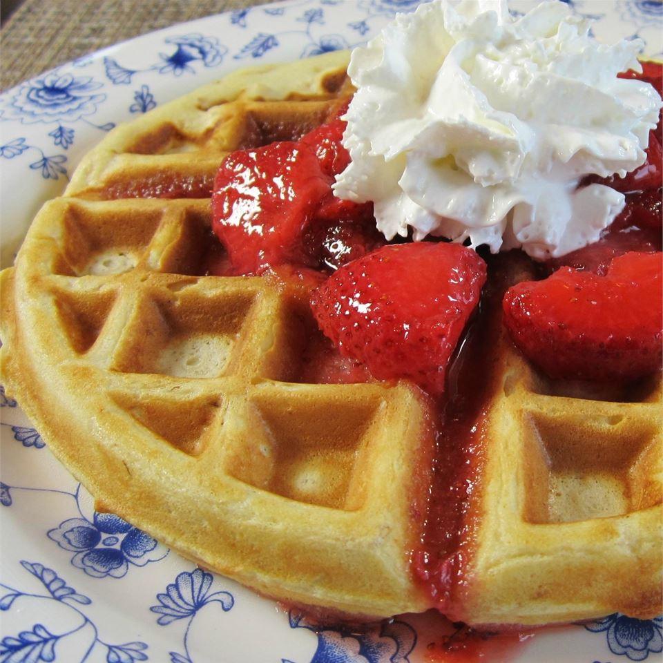 Buttermilk Oatmeal Waffles