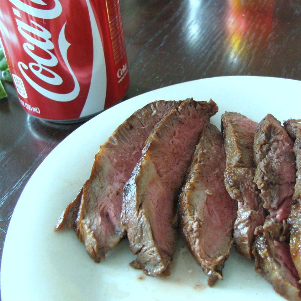 Cola Marinated Sirloin Steak Sugarplum