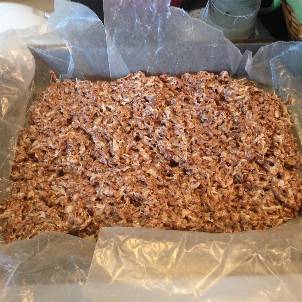 Coconut and Chocolate Rice Crispies Danielle D'Ottavio