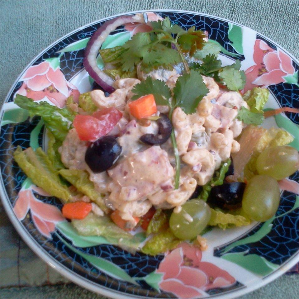 Delicious Macaroni Salad Patty Cakes