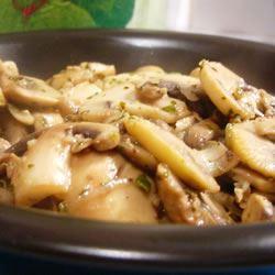 Pat's Mushroom Saute