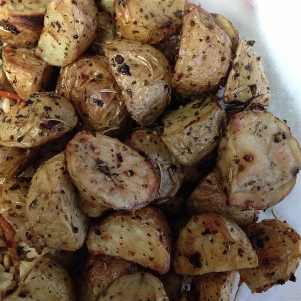 Healthier Oven Roasted Potatoes