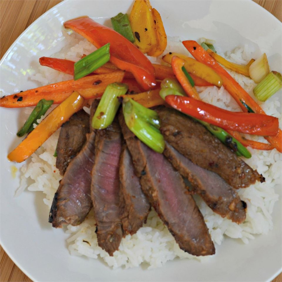 Asian Flair Flat Iron Steak