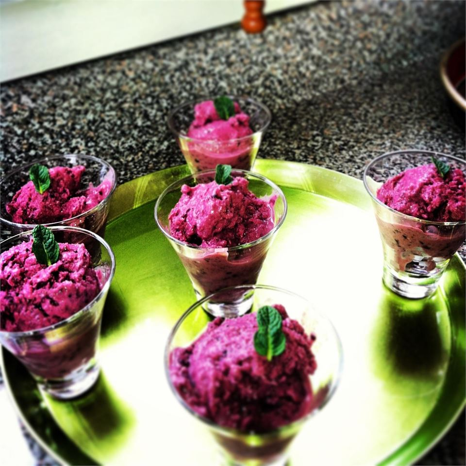 Adult Cherry Vanilla Frozen Yogurt