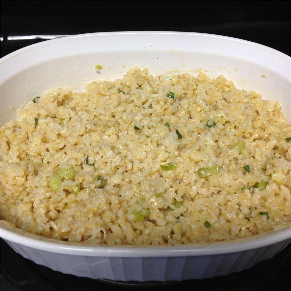 Parmesan Garlic Orzo Bajanqueen