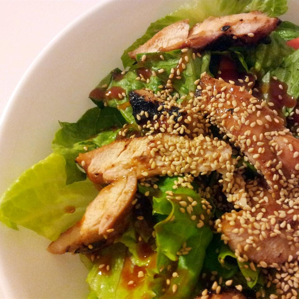 Asian Salmon Salad Anonymous