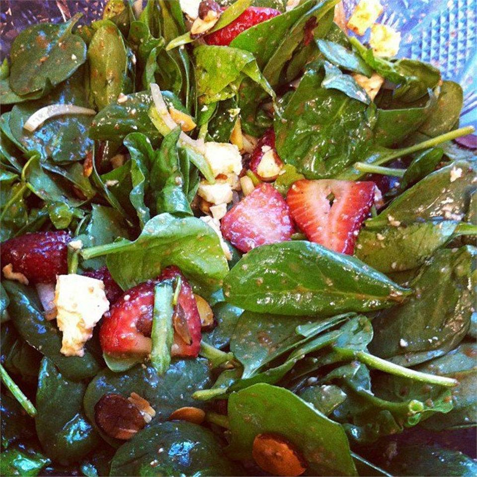 Emily's Strawberry Balsamic Salad