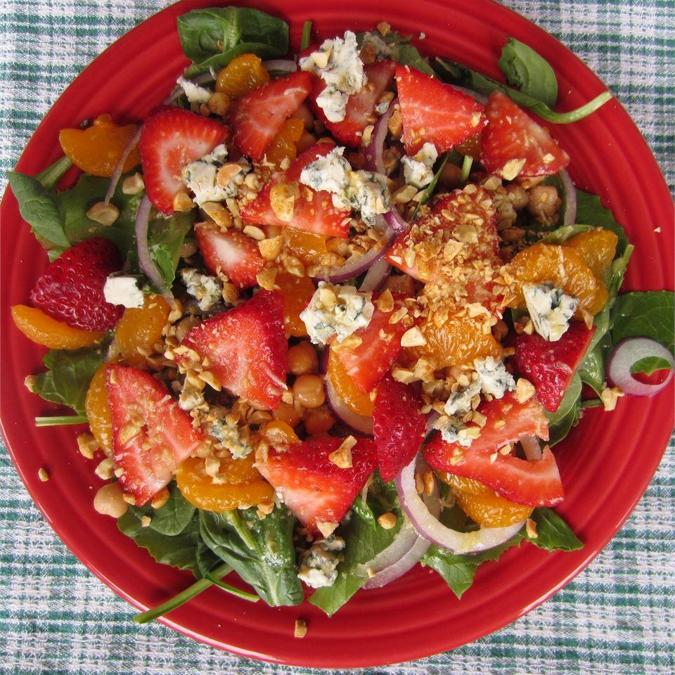 Jean's Super Salad with Ginger-Citrus Dressing
