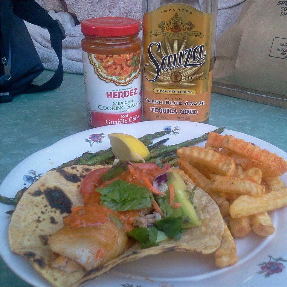 Baja-Style Fish Tacos Patty Cakes
