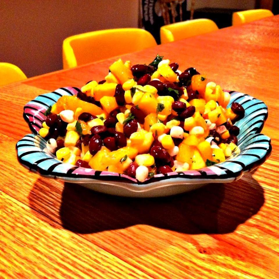 Mango, Corn, and Black Bean Salsa lovestohost