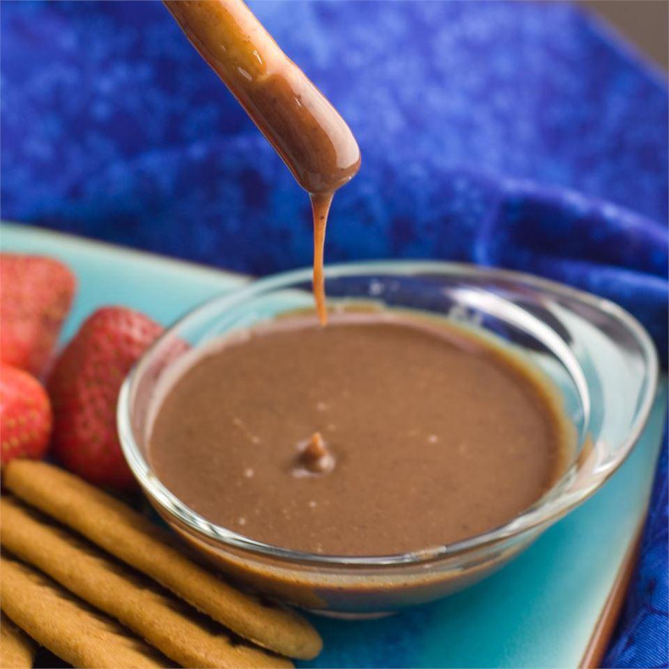 Caramel Chocolate Dip magicallydelicious