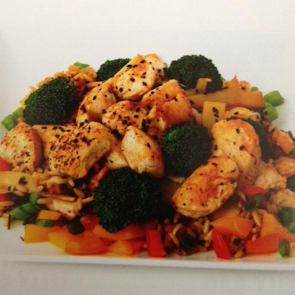 Easy Sesame Chicken Stir-Fry Mitchell Webber