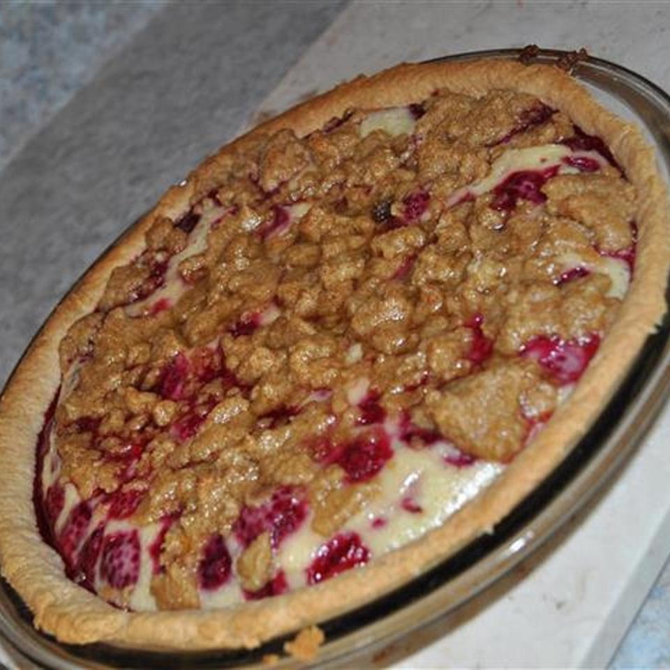 Sour Cream Raspberry Pie derem