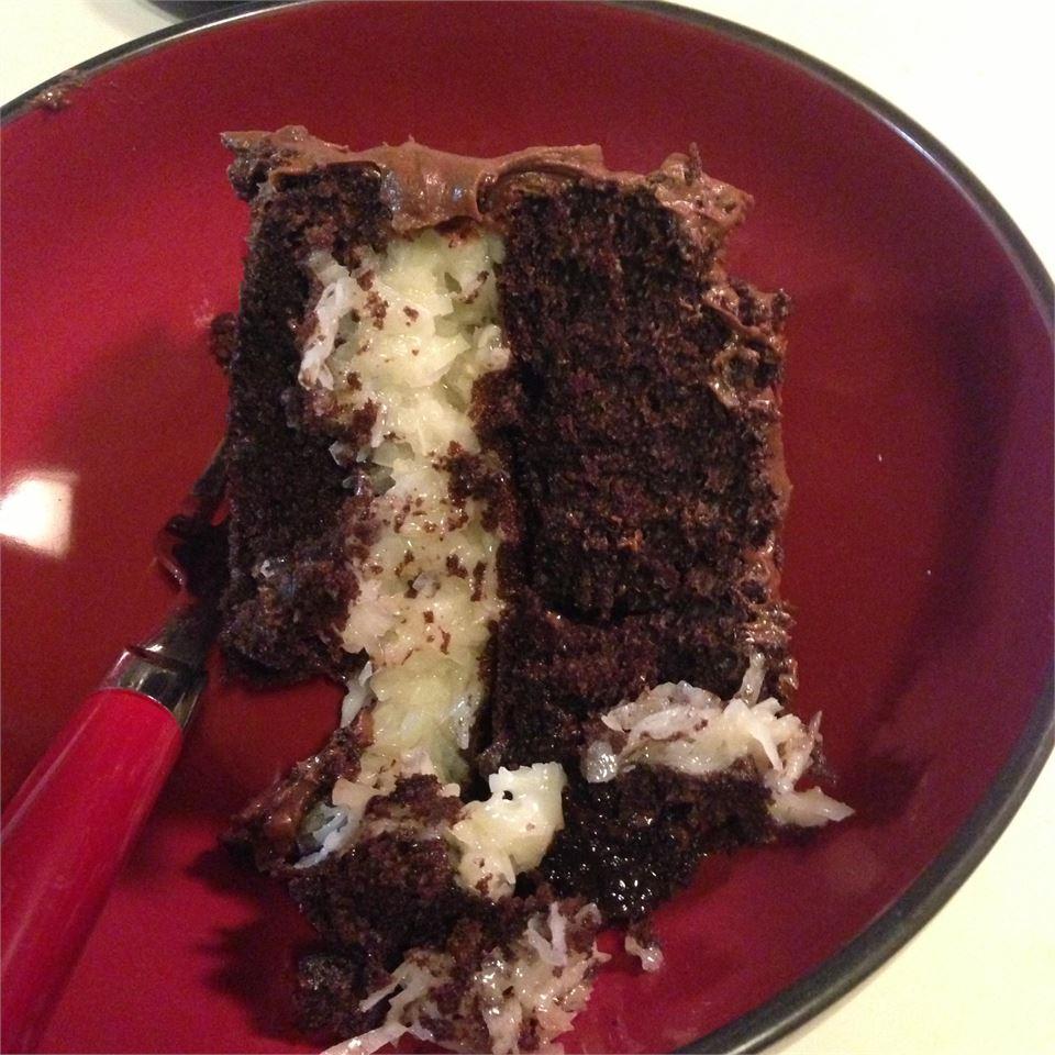 Coconut Chocolate Cake II karasmattic