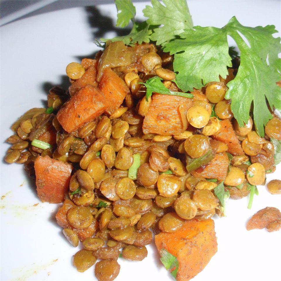 Caribbean Curried Peas (Lentils)