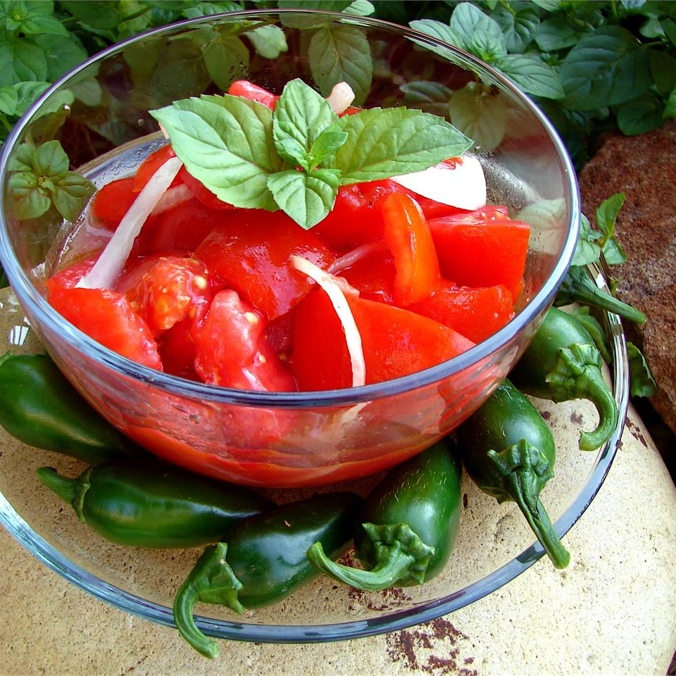 Chrissy's Sweet 'n' Sour Tomato Salad GodivaGirl