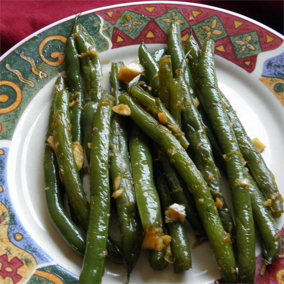 Honey Ginger Green Beans Joey Joan