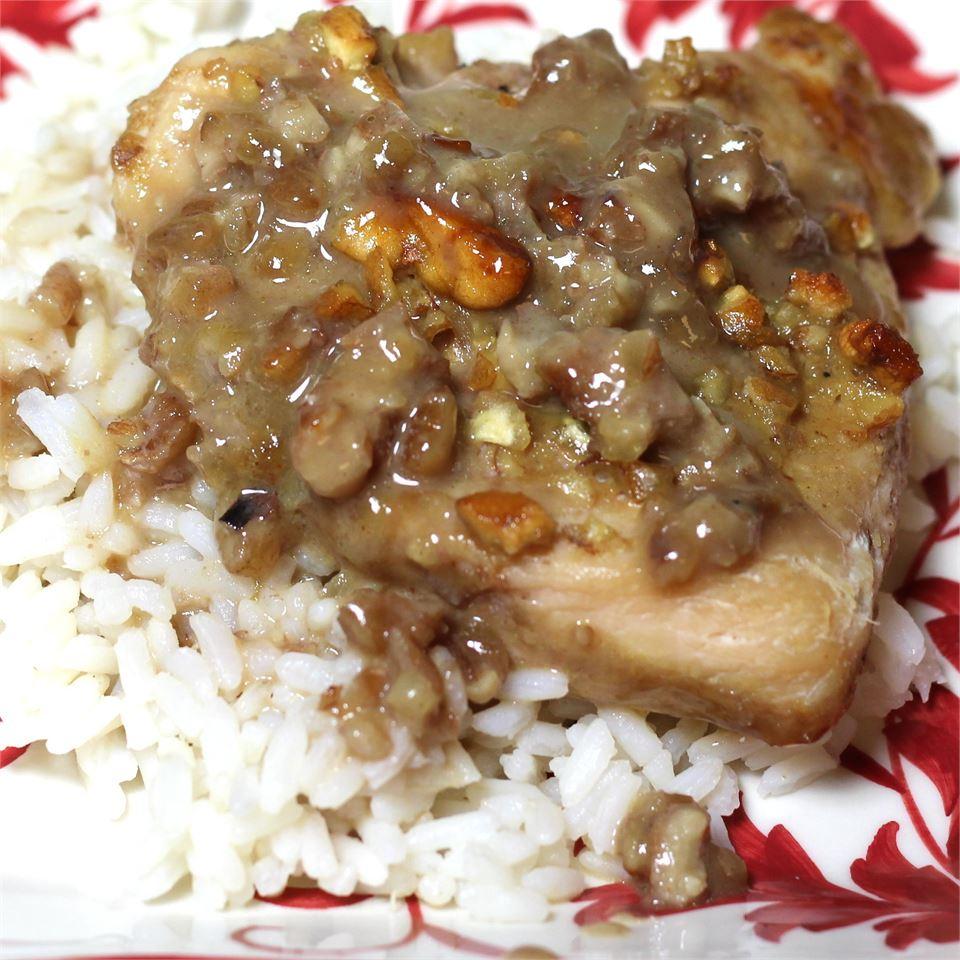 Pecan Dijon Chicken