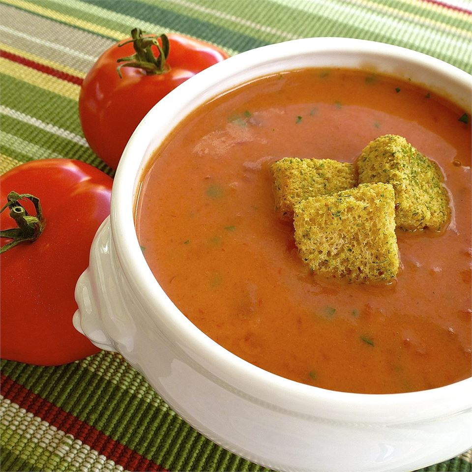 Quick and Easy Cream of Tomato Soup