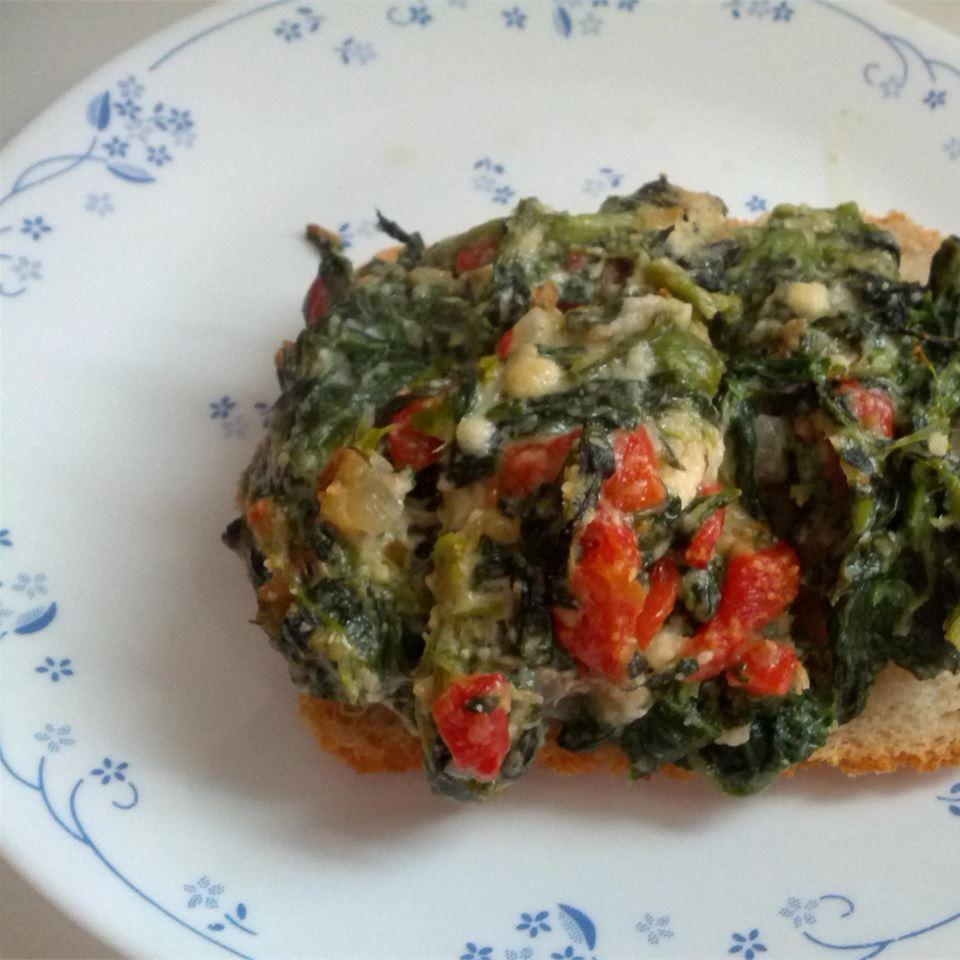 Spinach Chicken Parmesan ida