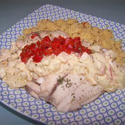 Poached Fish with Cucumbers Alta Nesbitt Rees Sieker