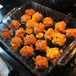 Chicken Cordon Bleu Bites brookerscookers