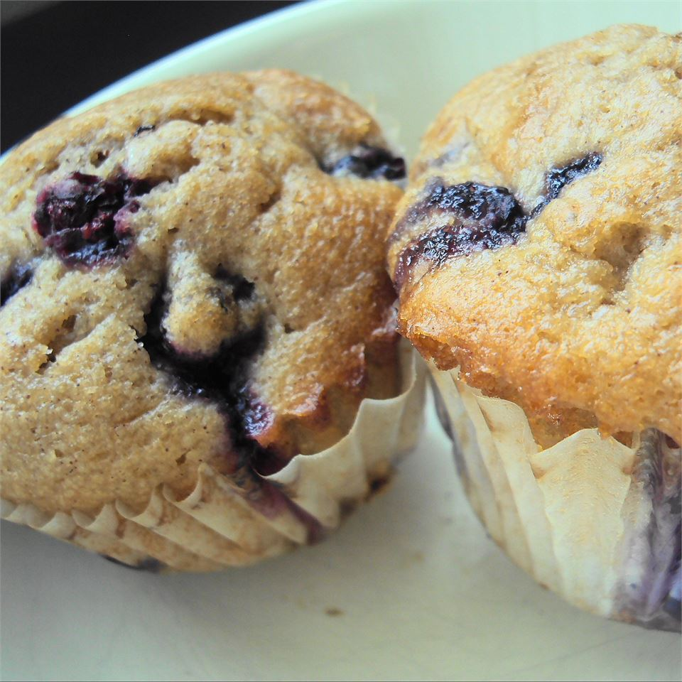 Blueberry Cream Muffins smartt