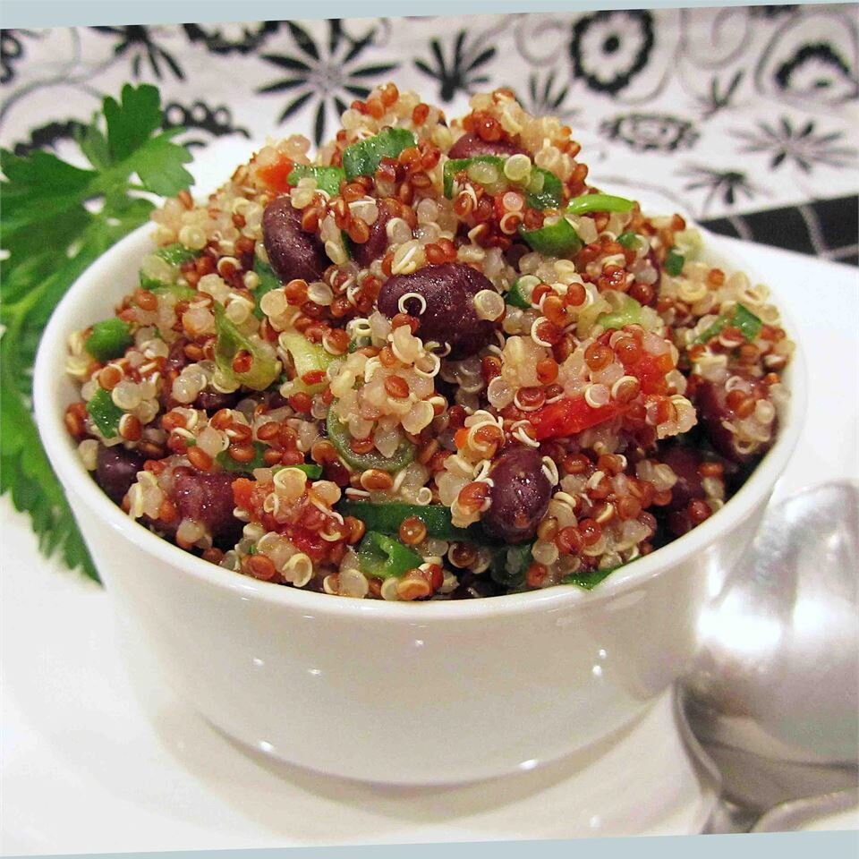 zesty quinoa salad recipe