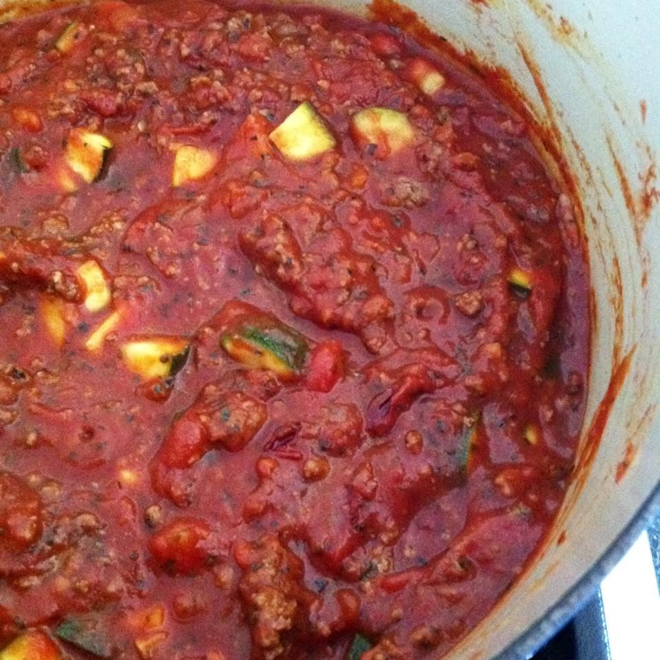 Clean-Eating Hearty Pasta Sauce GymRat