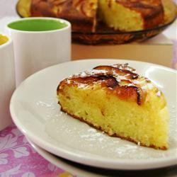 Apple Downside-Up Cake